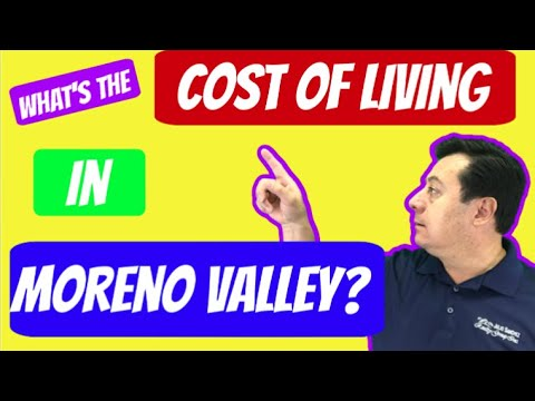 Cost of living in Moreno Valley? | Moreno Valley Real Estate Agent