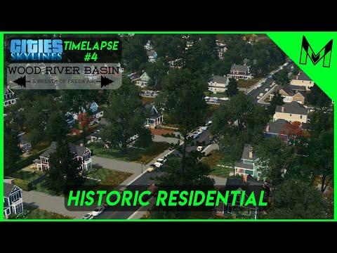 Wood River Basin #4 Historic Residential | Cities Skylines Northwest High Desert Theme