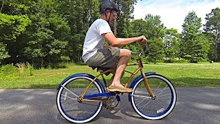 The Backwards Brain Bicycle - Smarter Every Day 133(Get your own backwards bike here ⇒http://bit.ly/BuyBackwardsBike⇐ Patreon Support Link: http://www.patreon.com/smartereveryday Tweet ..., 2015-04-24T23:01:29.000Z)