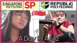 A Day In A Life Of *singpore Poly Vs *republic Polytechnic Student