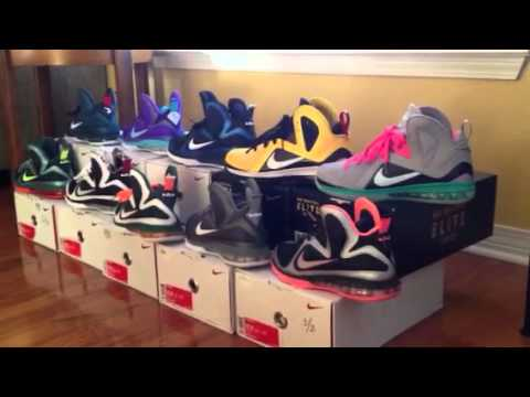 Nike Lebron 9 and Elite 9 collection so far - YouTube 10b093753f