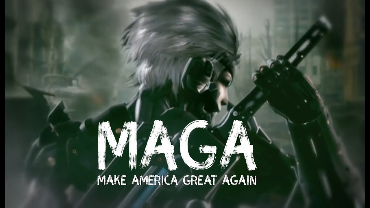 TRUMP - Make America Great Again (MAGA) / Metal Gear Rising Revengeance