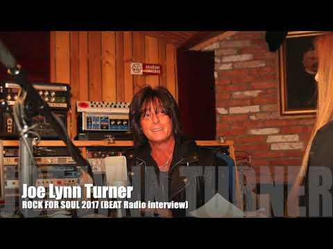 Joe Lynn Turner's interview - BEAT Radio (ROCK FOR SOUL 2017, EN)