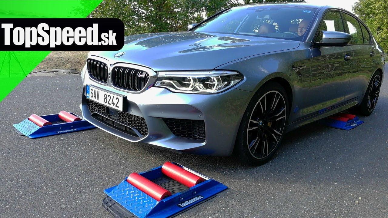 BMW M5 F90 M xDrive 4x4 test - TopSpeed.sk - YouTube 72af297182
