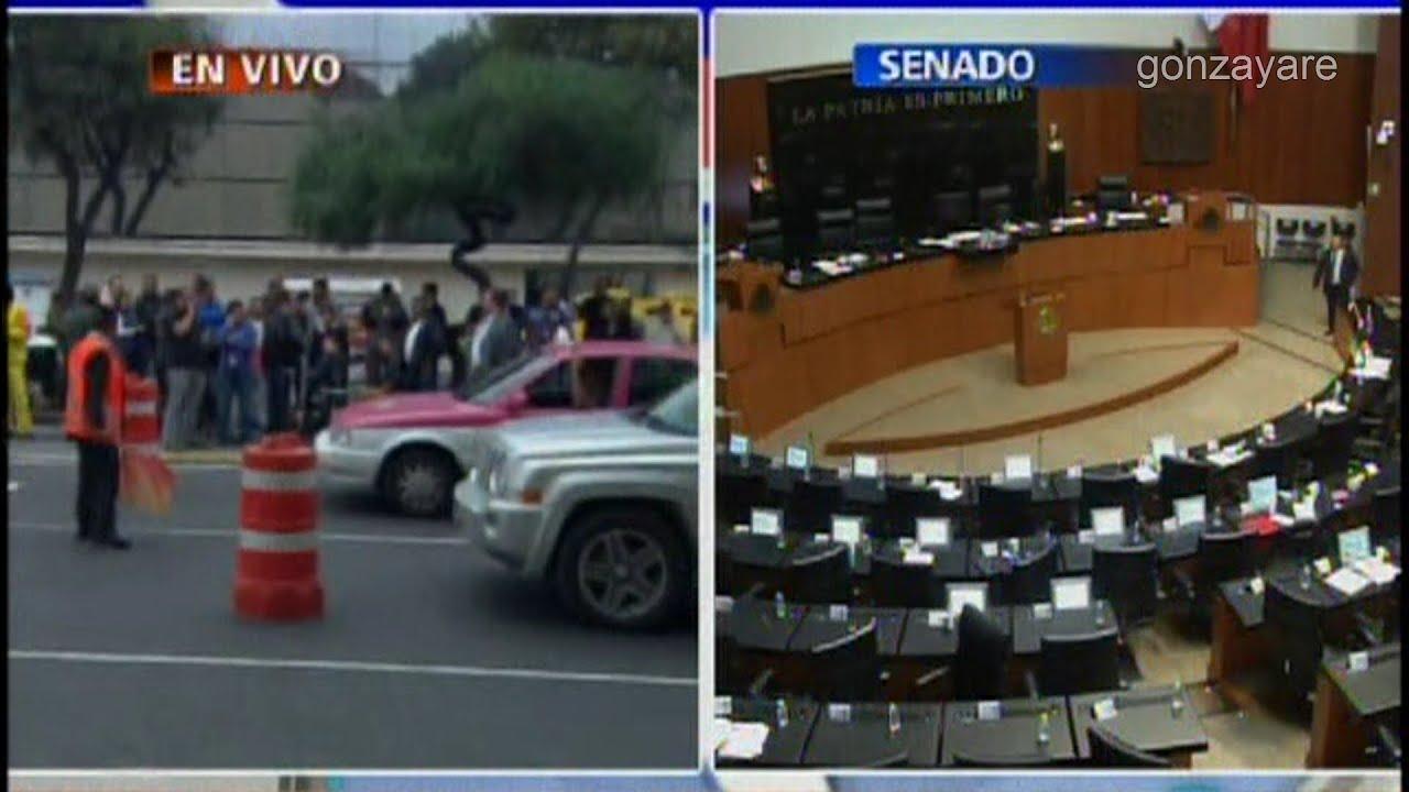 Temblor en México D.F. EN VIVO #TenemosSismo - YouTube
