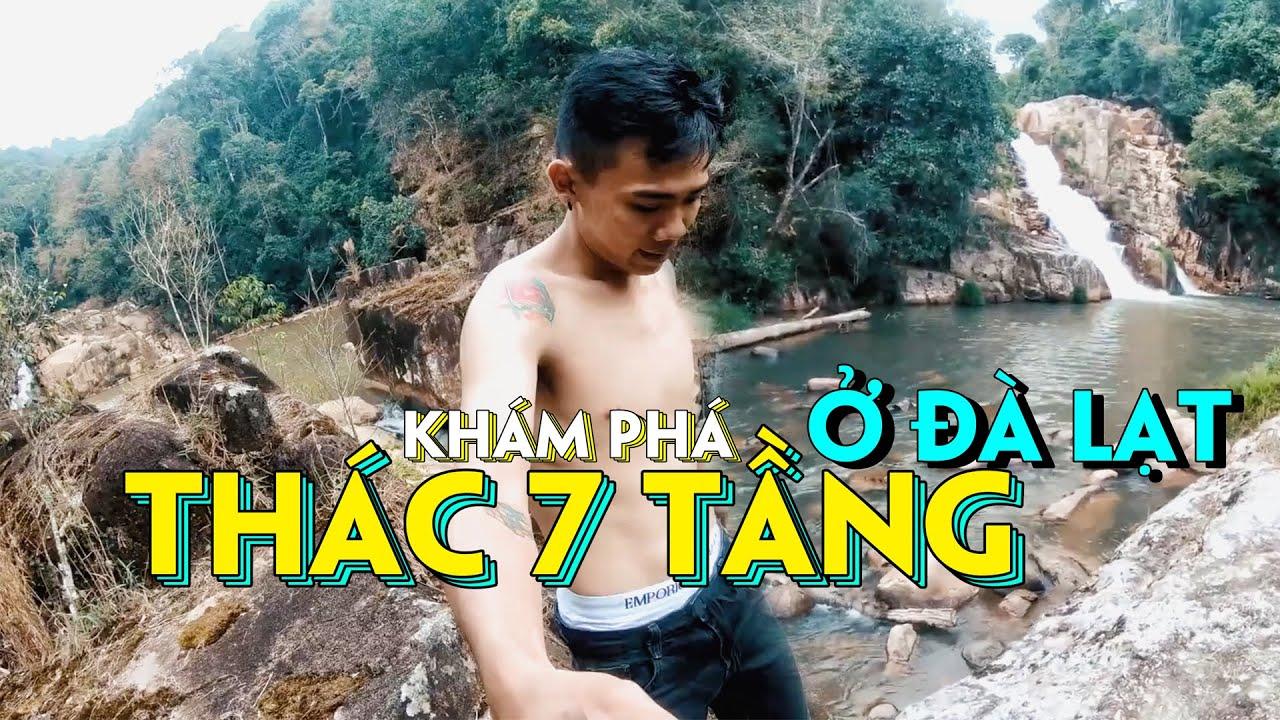 Bên Trong Thác 7 Tầng Của Đà Lạt Mà Có Thể Dân Địa Phương Còn Chưa Biết | Vietnam Vlog #7 | MinMin