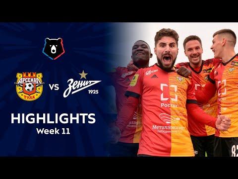 Arsenal Tula Zenit Petersburg Goals And Highlights
