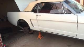 1965 Mustang Straight Pipe exhaust
