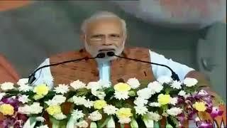 Narendra Modi's Sambalpuri speech  at jharsuguda on 22.09.18