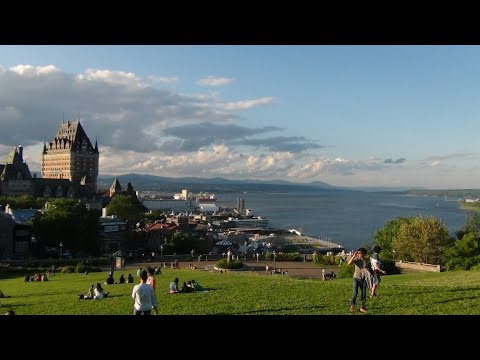 Maritime of My Life (Pt. 20) - Château Frontenac and Quebec City by Sunset