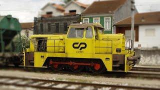 CP Comboios de Portugal - Locotrator Sentinel CP 1184