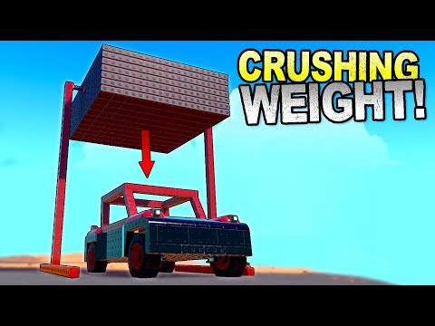 I Created The Heaviest Object This Game Would Let Me And Did This... - Trailmakers Gameplay |