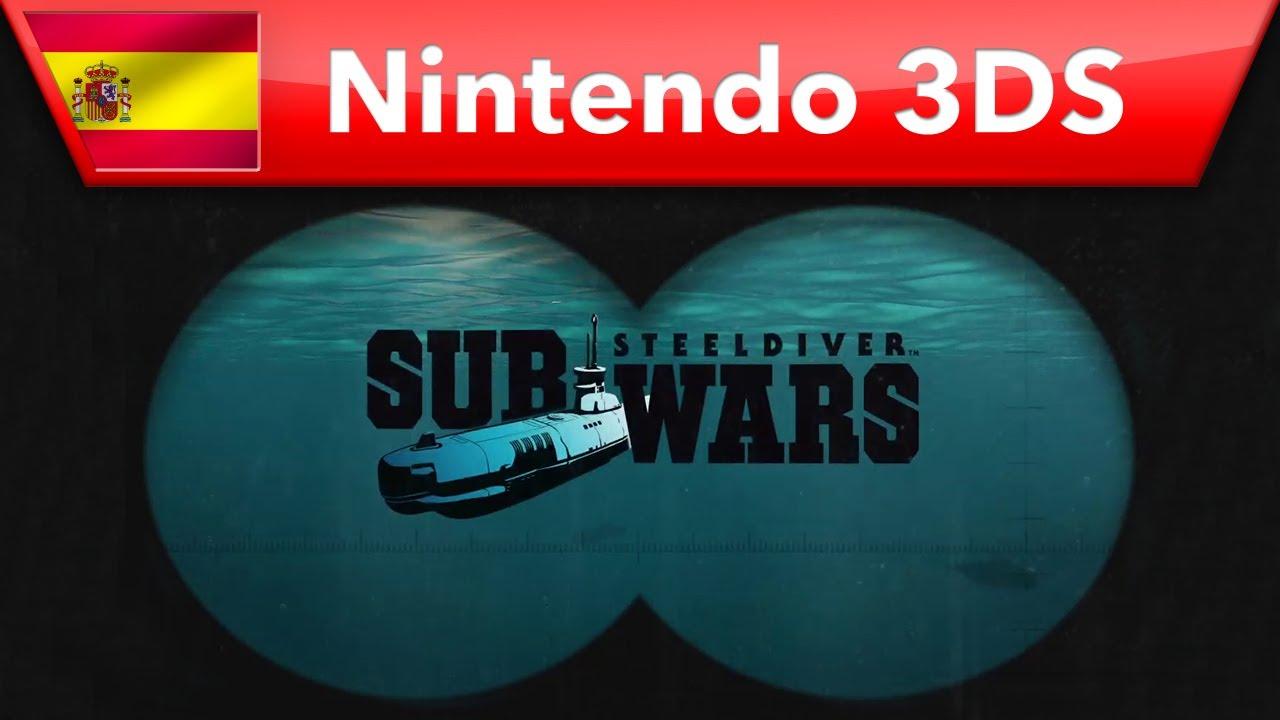 Steel Diver: Sub Wars - Tráiler (Nintendo 3DS)