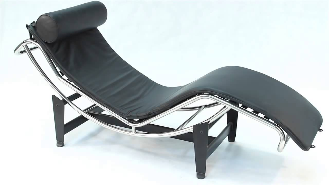 replica le corbusier chaise longue lc4 youtube. Black Bedroom Furniture Sets. Home Design Ideas