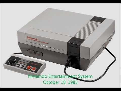 Timeline of Video Game Consoles