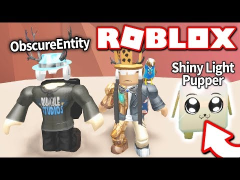 PLAYING WITH THE CREATOR OF MINING SIMULATOR: ObscureEntity *THIS PET IS IMPOSSIBLE TO GET* Roblox