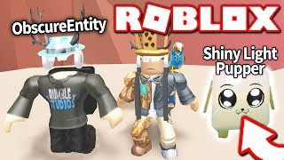 PLAYING WITH THE CREATOR OF MINING SIMULATOR: ObscureEntity *THIS PET IS IMPOSSIBLE TO GET* (Roblox)