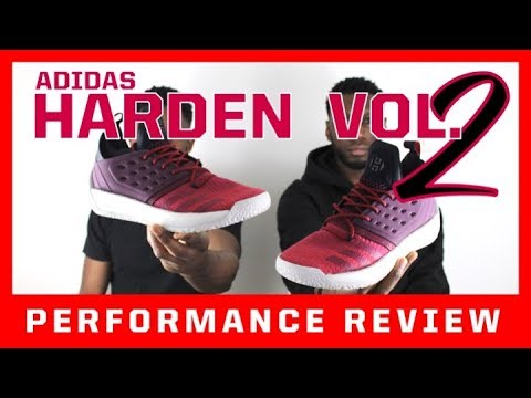 c85b4b3868634 ADIDAS HARDEN VOL. 2 PERFORMANCE REVIEW - YouTube
