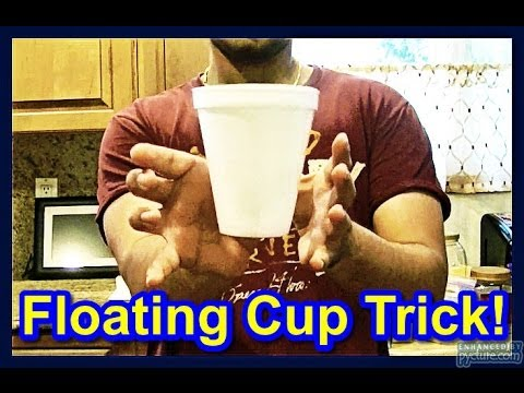 ⬤ Floating Cup! // Cool Magic Tricks To impress Your Friends ...