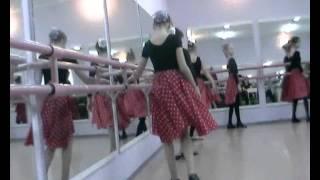 Открытый урок по народным танцом, ДШИ