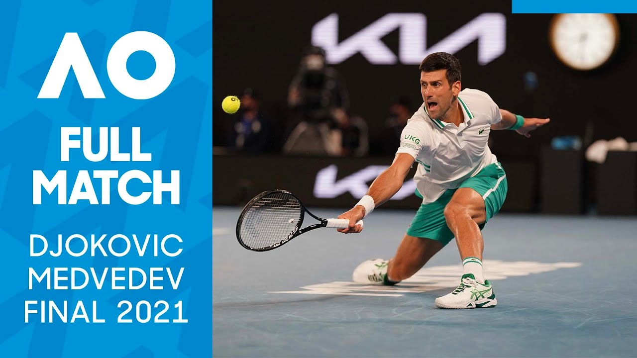 Novak Djokovic vs Daniil Medvedev Full Match | Australian Open 2021 Final