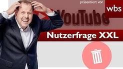 Neue YouTube-AGB: Werden jetzt Kanäle gelöscht? Was ist dran? | Rechtsanwalt Christian Solmecke