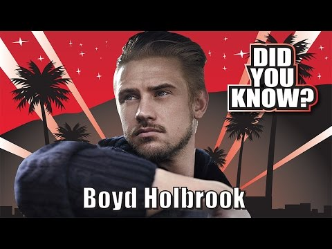 DID YOU KNOW? Boyd Holbrook; 10 Things You Didn't Know
