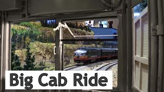The Big Cab Ride (Westbound) at the Colorado Model Railroad Museum