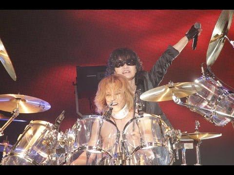 X JAPAN  JADE  RUSTY NAIL  紅 , 2015627 LUNATIC FEST