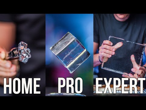 How To Make Clear Ice Home | Pro | Expert