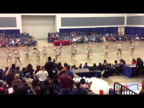 PSJA Southwest High School Sapphires Team Pom at ADTS