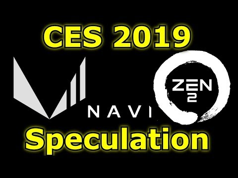 Vega II, Navi and Ryzen 3 at CES? + Competition to win a Mini ITX Chassis!