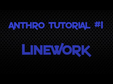 Lineart- Anthro Tutorial #1