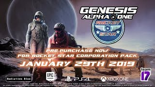 Genesis Alpha One - Release Date Trailer (PC, Xbox One, PlayStation 4)