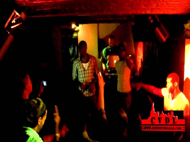 CVDL - Kayji feat Gabs - Du Kif des Lettres [Live] au Ghosn / Lille Travel Video