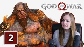 FIRST BOSS! | God Of War PS4 Gameplay Walkthrough Part 2 (God Of War 4)
