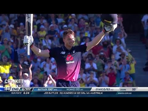Third ODI: Australia v England