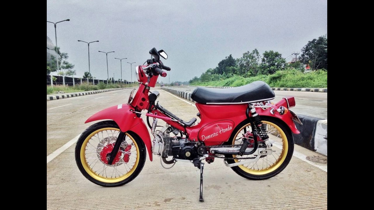 Trend Modifikasi Honda C70 Racing YouTube
