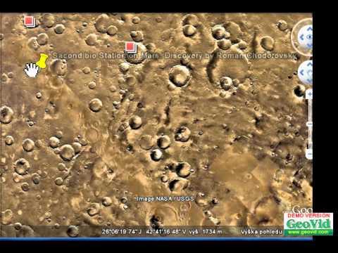 Second bio Station on Mars. Discovery by Roman Chodorovsky from Czech Republic. Original Video.avi