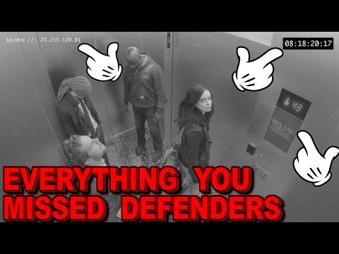 Everything You Missed From The Defenders Official Teaser Trailer - Easter Eggs And More