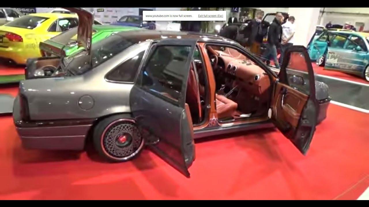 1989 Opel Vectra Ax 2000 Suicide Doors 2014 Essen Motor Show Youtube Vauxhall Cars