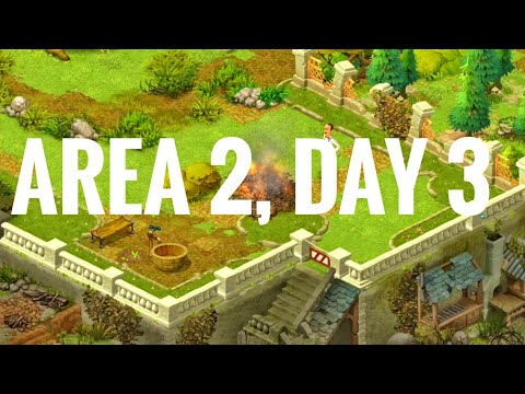 Area 2, Day 3. Playrix Gardenscapes