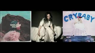 Billie Eilish, Melanie Martinez and Halsey/ Tag, your bured castle (mashup)