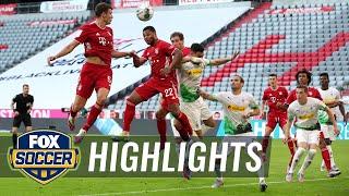 Bayern on verge of title after Goretzka's winner beats Monchengladbach | 2020 Bundesliga Highlights