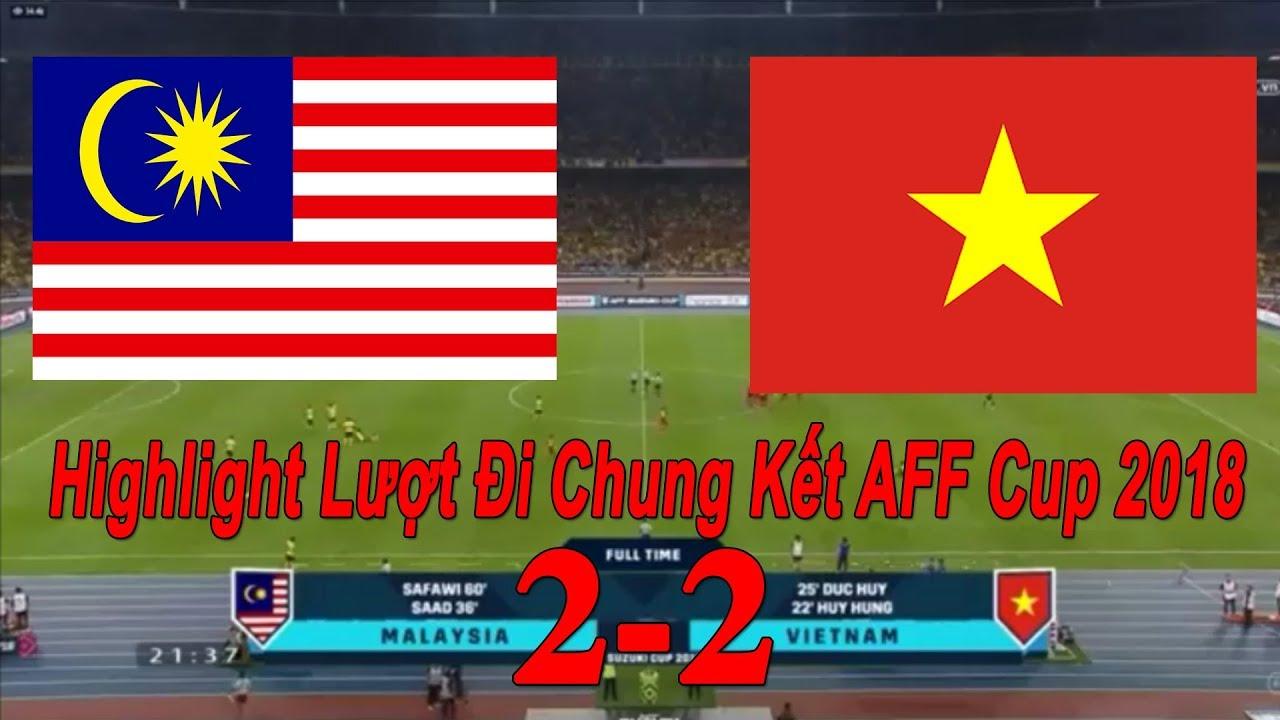 Highlight Malaysia - Việt Nam 2-2 | Lượt Đi Chung Kết AFF Suzuki Cup 2018