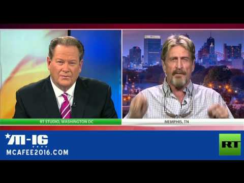 John McAfee Reveals To FBI, On National TV, How To Crack The iPhone (RT Interview)