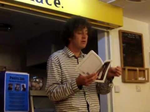 Ira Lightman at Poetry Jam