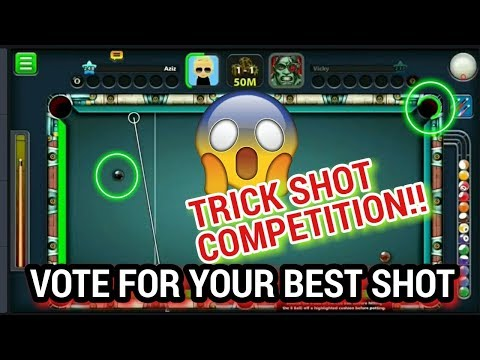 8 Ball Pool: World's most crazy and insane trick shots ever - Subscriber Vote - A free Miniclip game