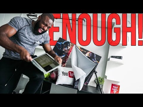 I'm Fed Up of Making YouTube Videos!!! | Gabriel Sey