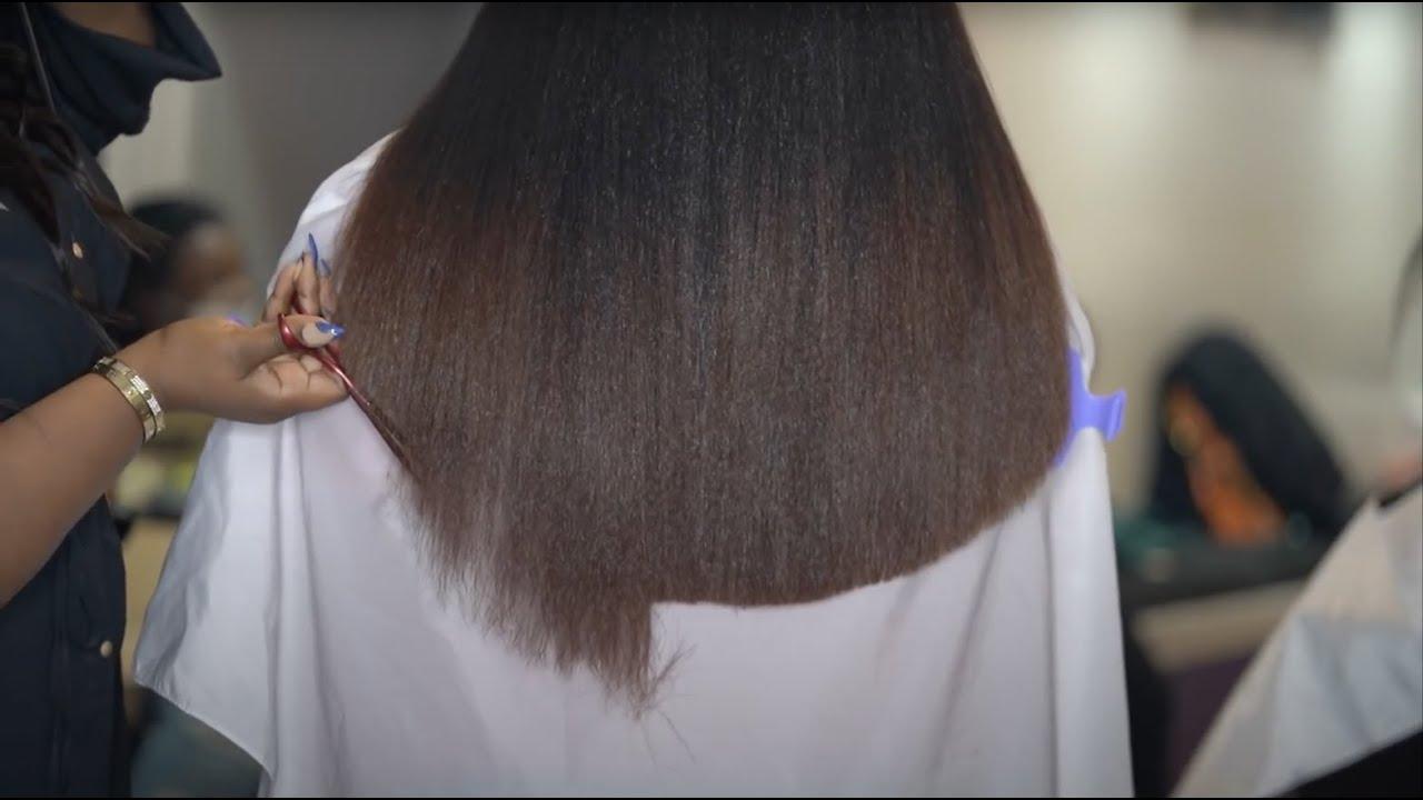 She has SO MUCH HAIR!